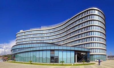 Здание олимпийского ОРГ комитета